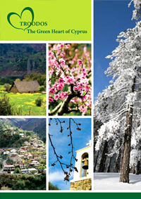 Cyprus Troodos the green Heart of Cyprus Book