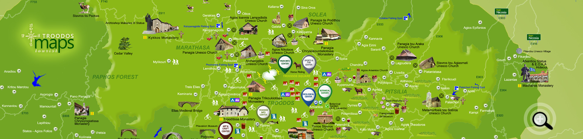 TROODOS MAPS